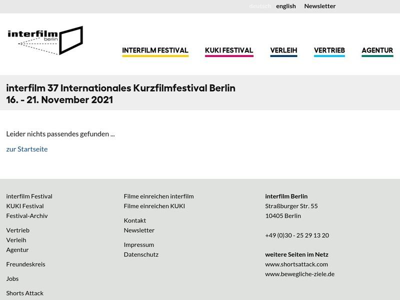 Screenshot von http://www.interfilm.de/festival2012/home.html